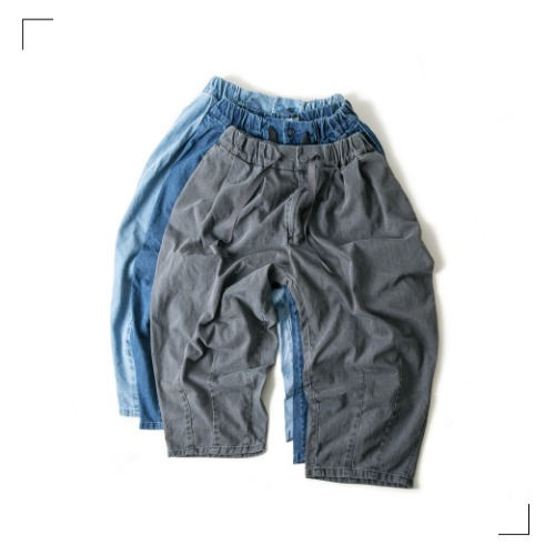Denim Balloon Pants - 3color [ RE ]