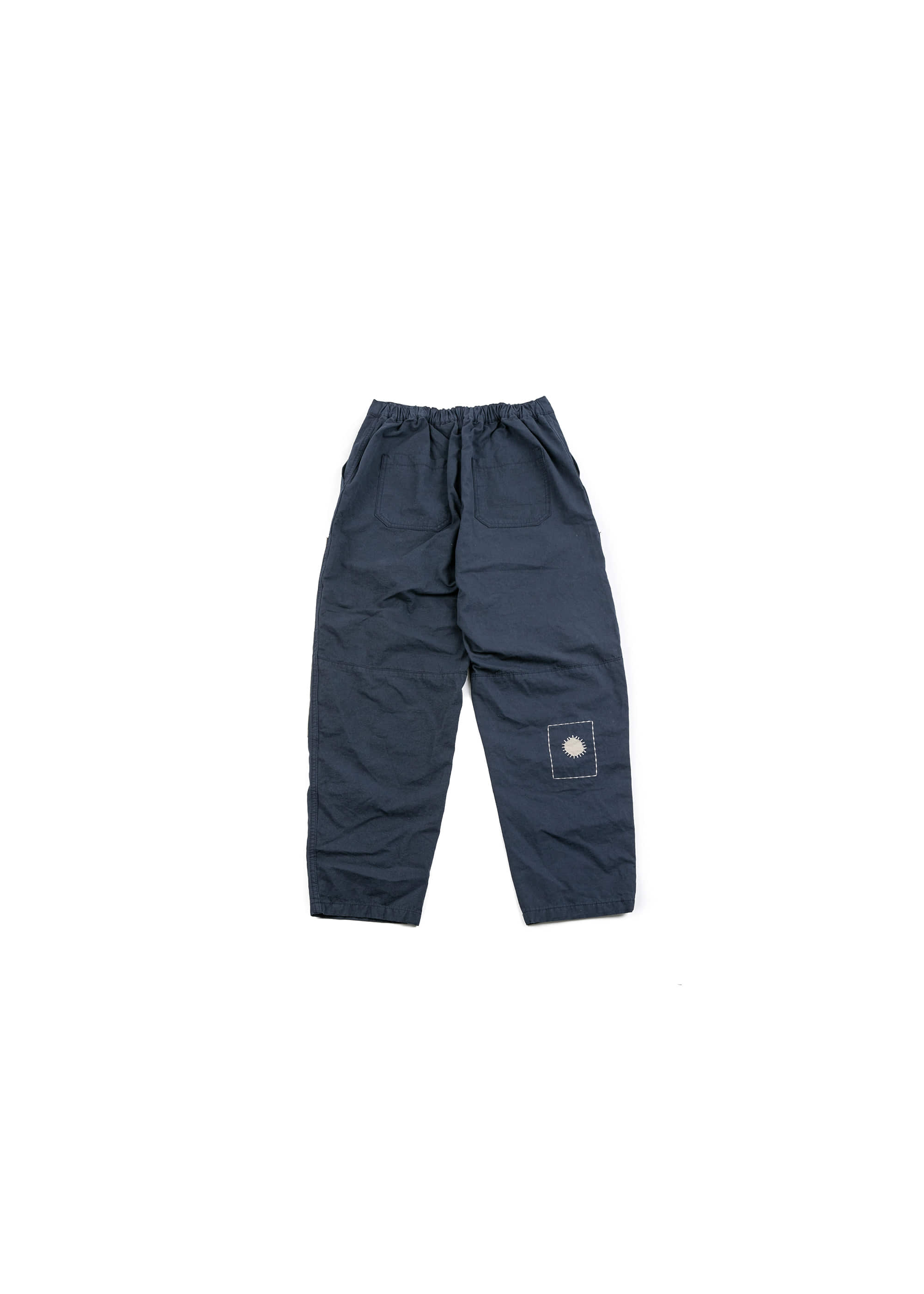 Build Patch Work Pants - Navy