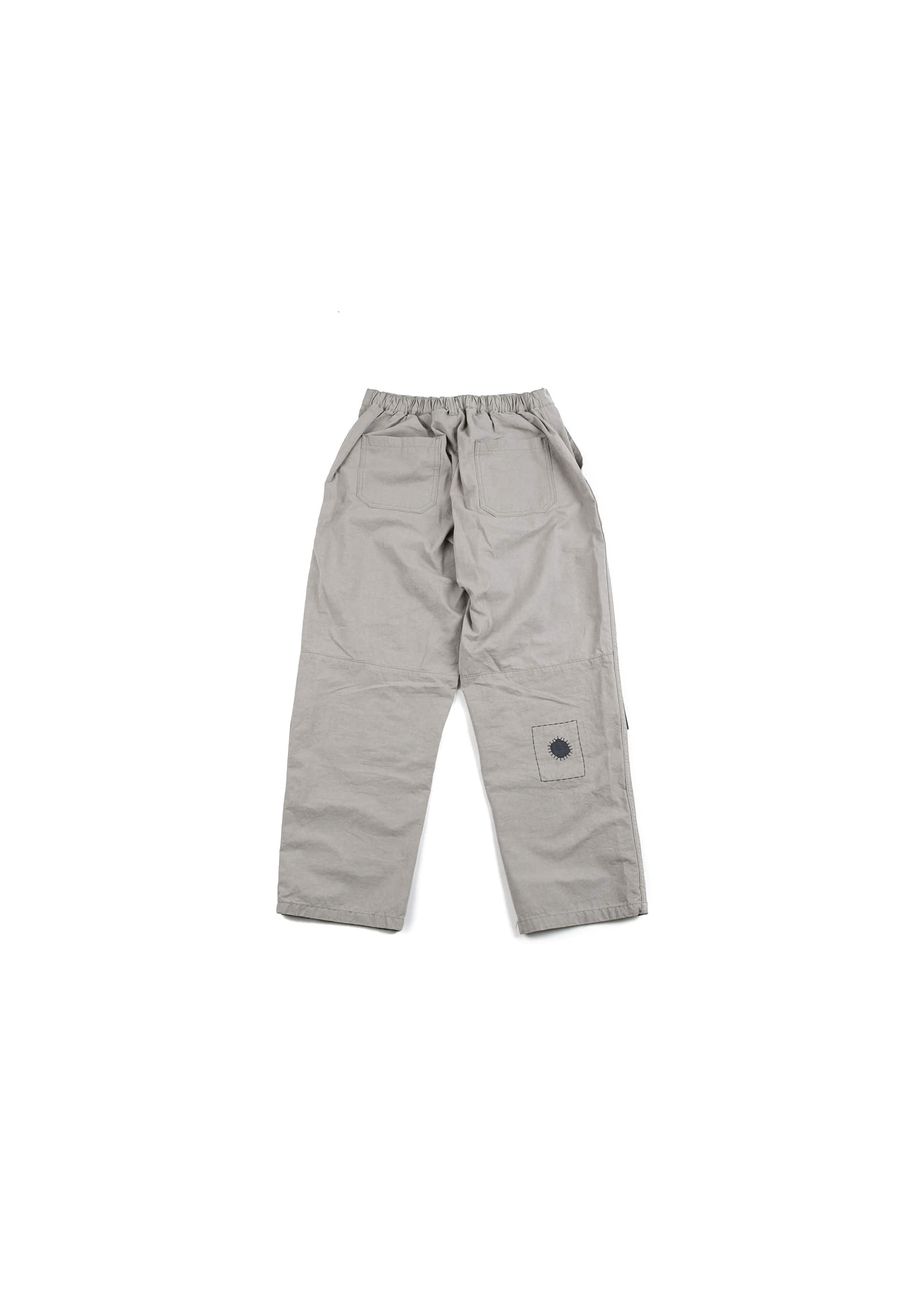 Build Patch Work Pants - Grey