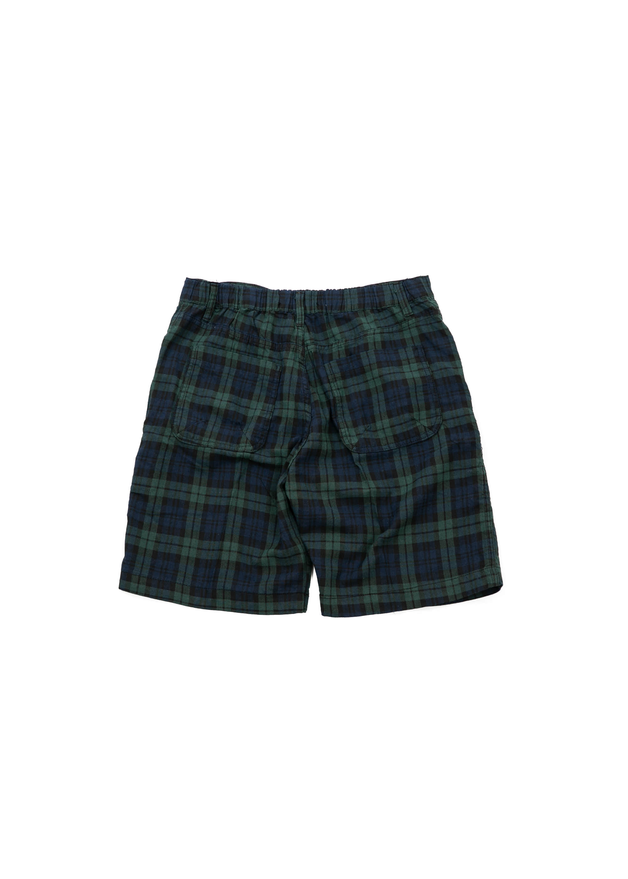 Black Watch Banding Shorts