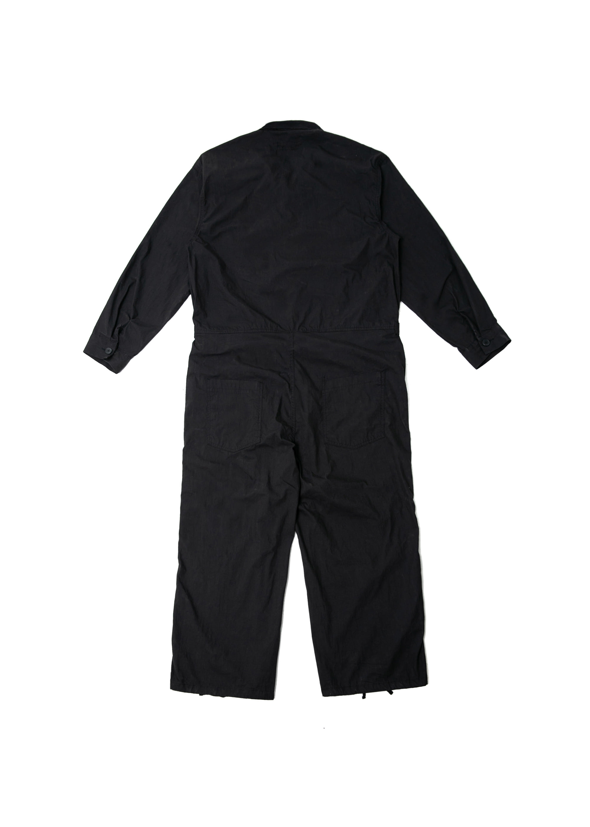 Military Wide Army Coverall - Black