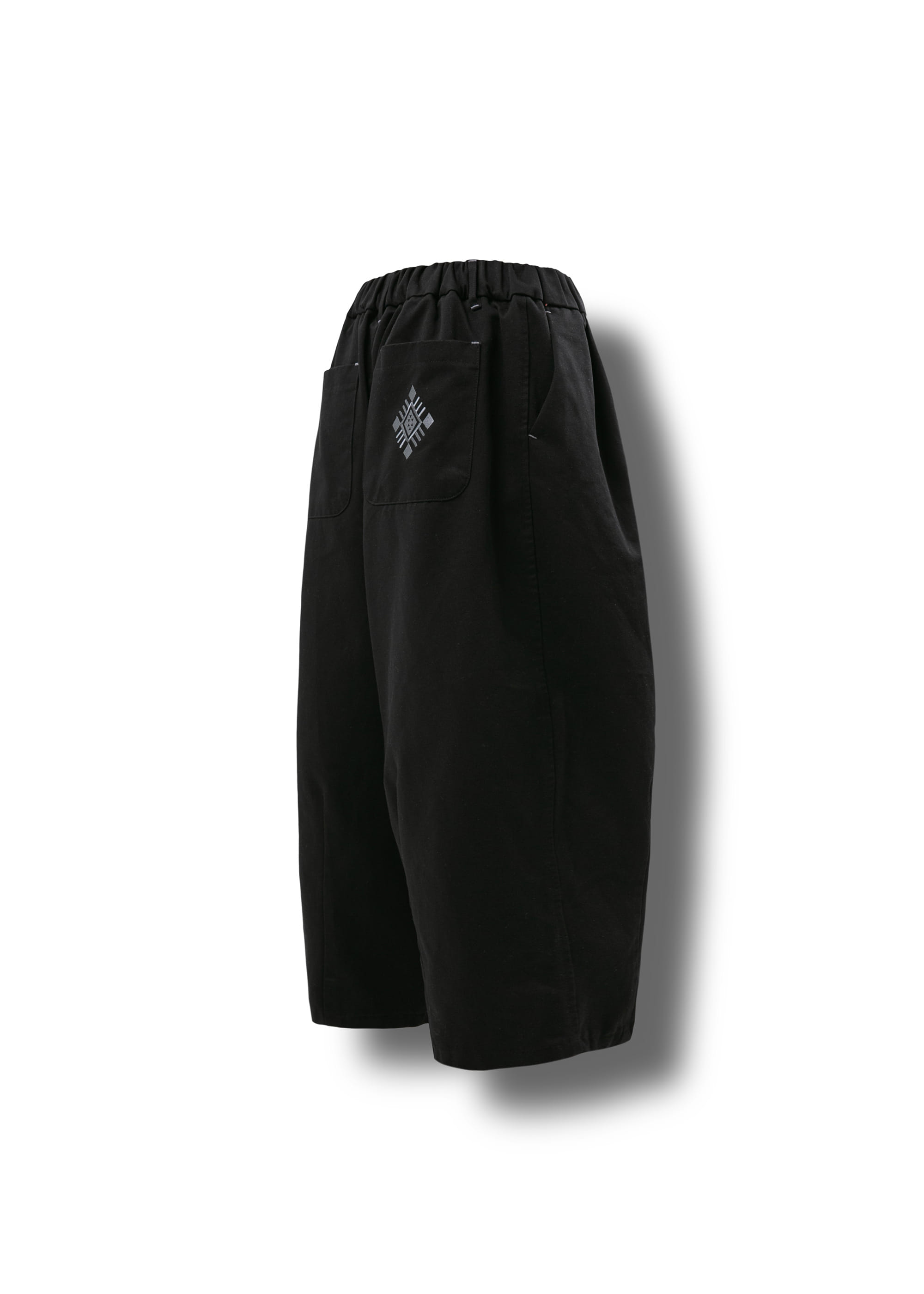 [AG] Ethnic String Balloon Pants - Black