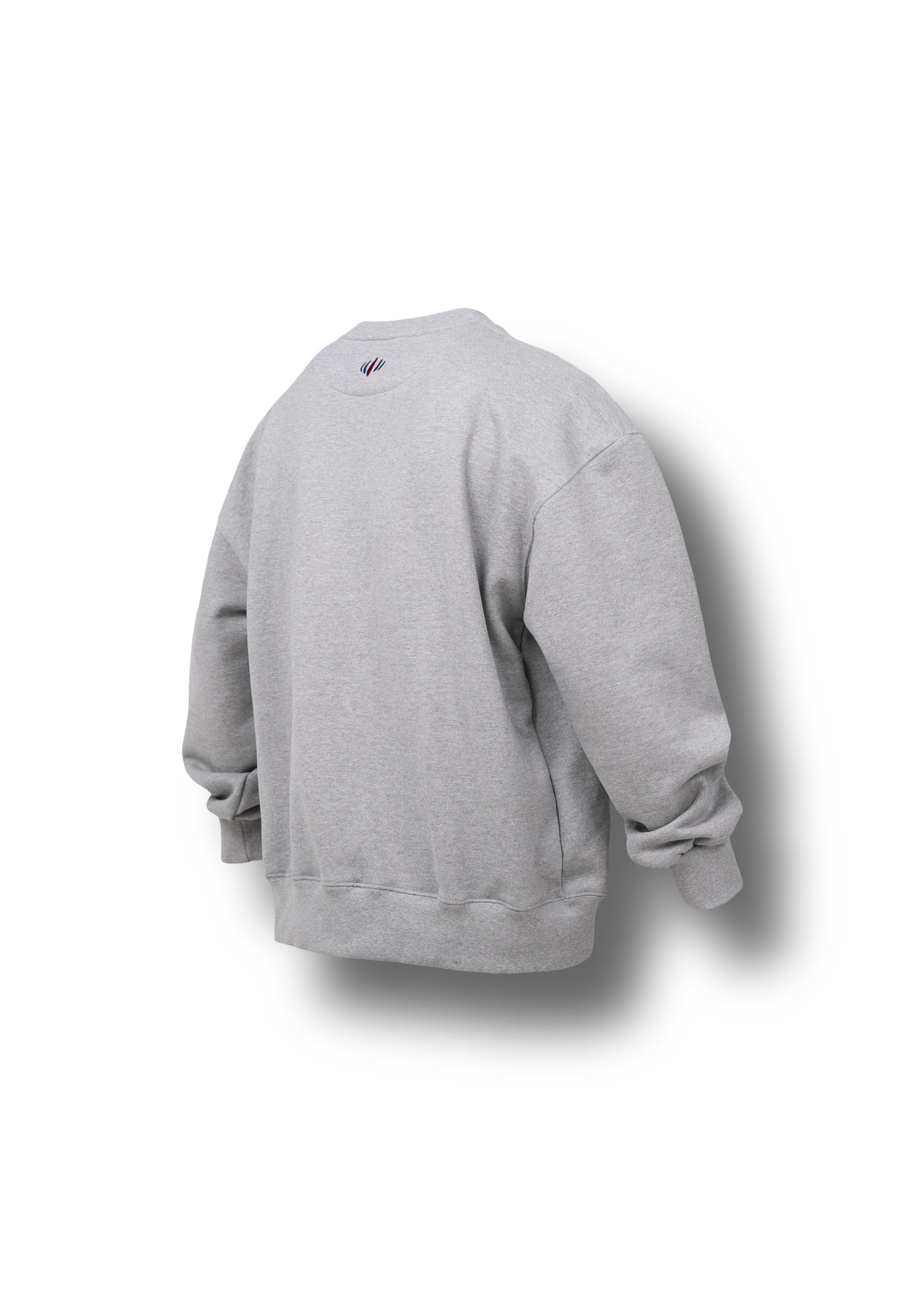 [AG] Native American Embroidery Sweat Shirts - Grey