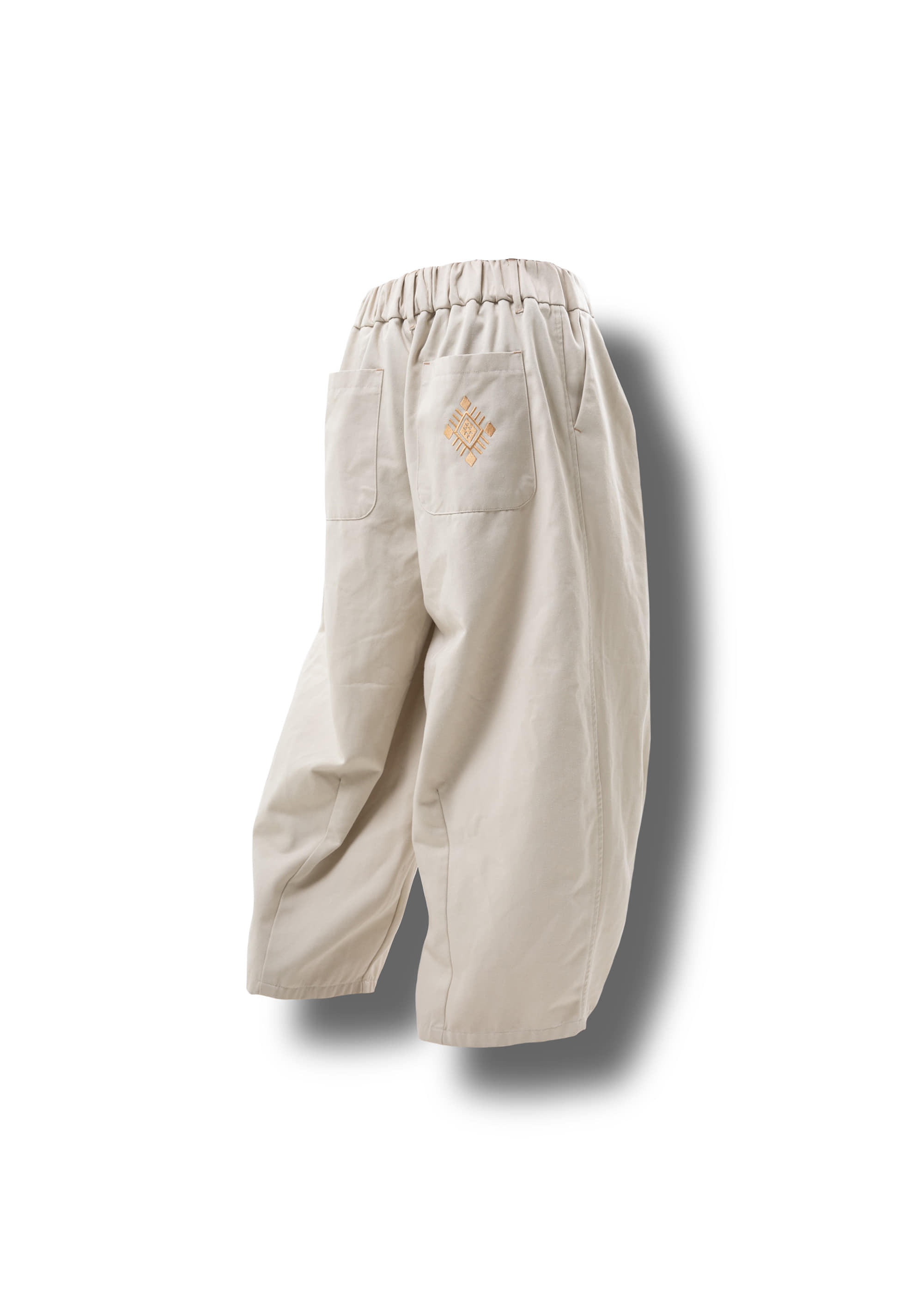 [AG] Ethnic String Balloon Pants - Cream