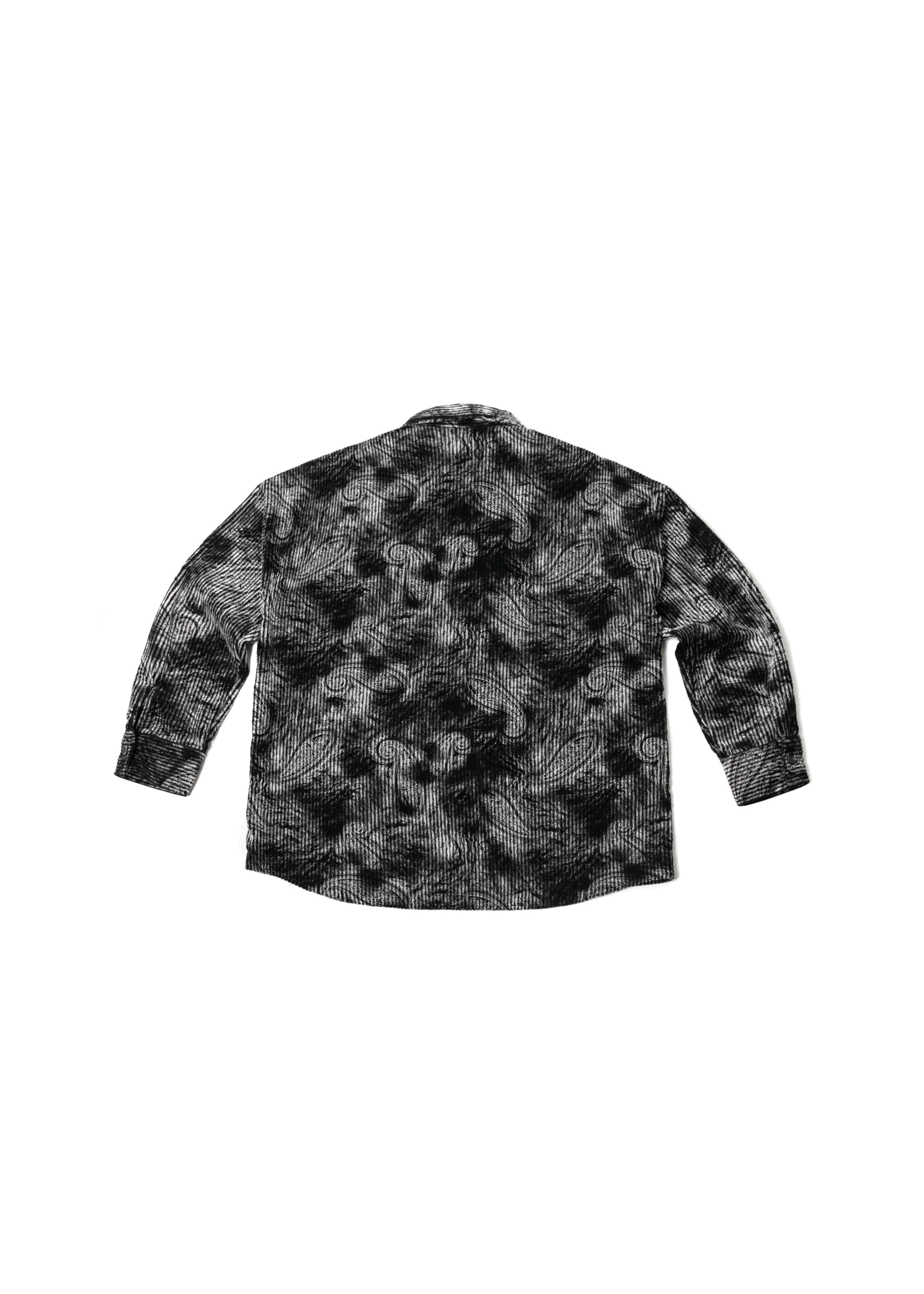 Paisley Corduroy Over Shirts Jacket