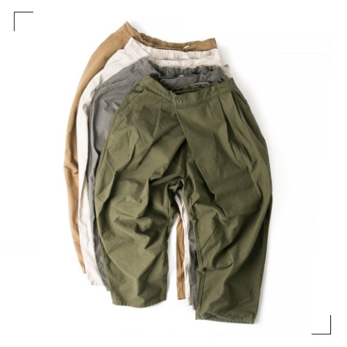 Double Dia Pants - 4color