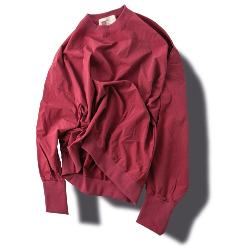 Crunch Stamp Sweat Shirts - Red