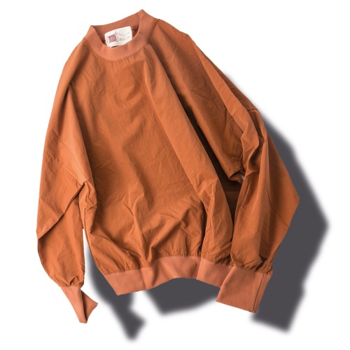 Crunch Stamp Sweat Shirts - Orange