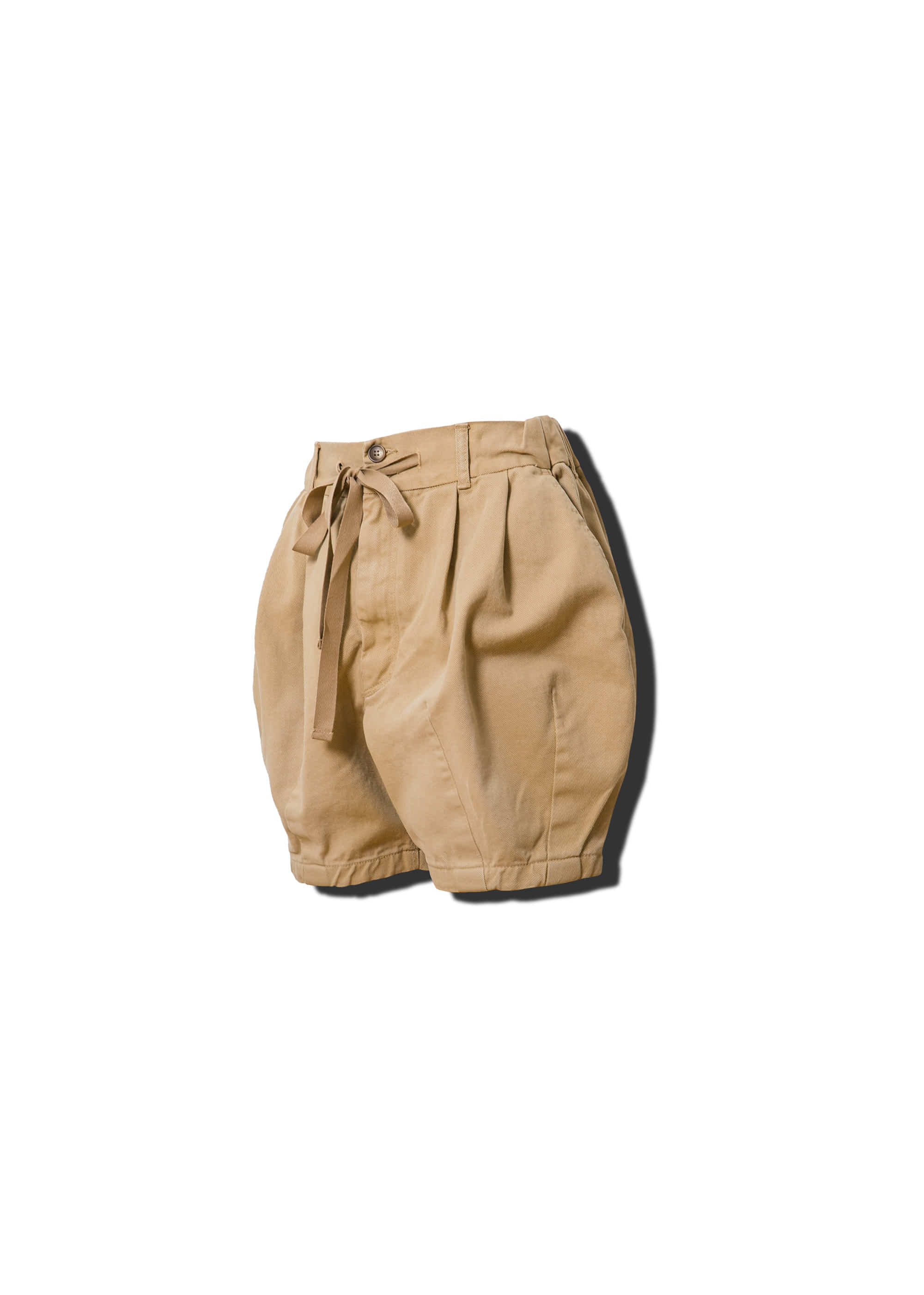 [AG] Cotton Easy Balloon Shorts - Beige [RE]